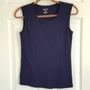 White Stag Navy Blue Tank Top NWOT